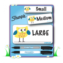 Kiddo Tags™ Re-Mark-Able Labels